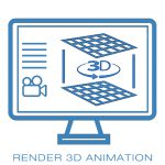 Render 3D video 3d Padova Vicenza Venezia Oficina snc
